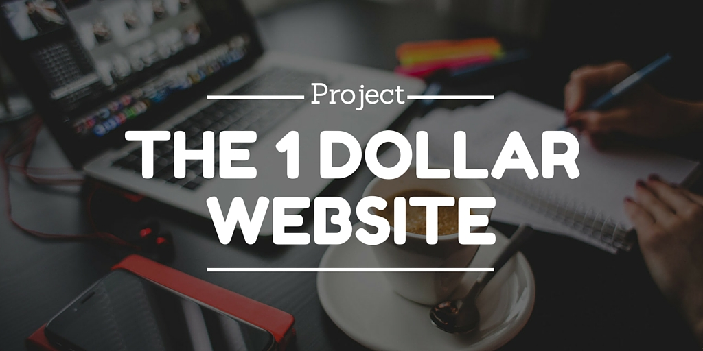 The one dollar website